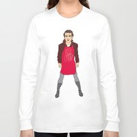 murray Long Sleeve T-shirts featuring Grill Murray  by Chelsea Herrick