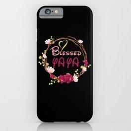 Blessed YAYA iPhone Case