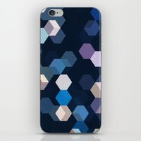 honeycomb iPhone & iPod Skins featuring HONEYCOMB by ED design for fun