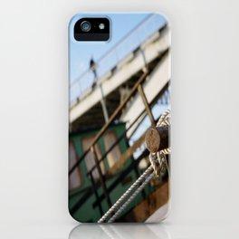 Paris, The Passerelle Debilly iPhone Case