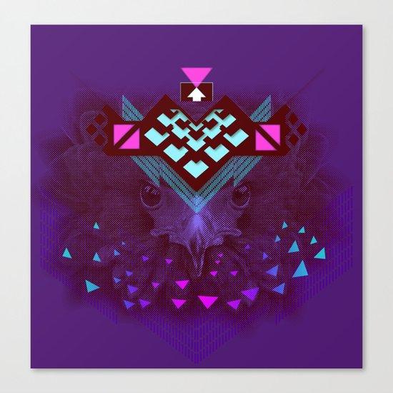 ::Space Bird:: Canvas Print