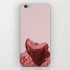 Shy red girl iPhone Skin