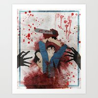 evil Art Prints featuring Evil by Spectacle Photo