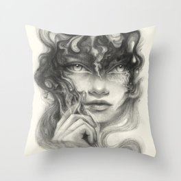 Innerspace Throw Pillow