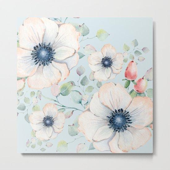 Summer Flowers #society6 #buyart Metal Print