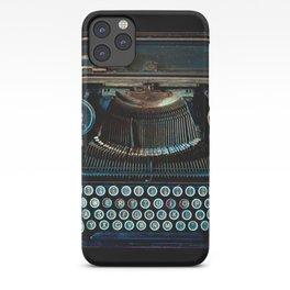 old vintage typewriter iPhone Case