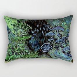Dank, Dark Regions Rectangular Pillow