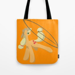 Tail Whipping Applejack Tote Bag