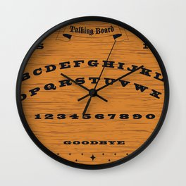 Vintage Talking Board Wall Clock