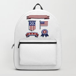 Happy Veterans Day Backpack