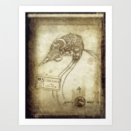 Bestiary 03 Art Print