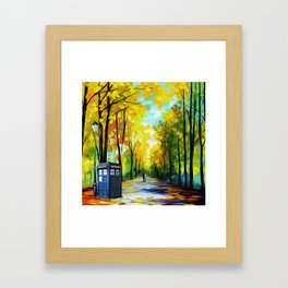 Romantic Framed Art Print