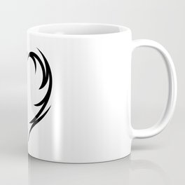 Tribal Heart 2 Coffee Mug