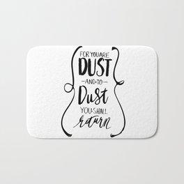 Dust to Dust Bath Mat