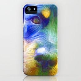 A Rottweiler Rainbow iPhone Case