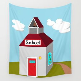 The Ole School House Wall Tapestry