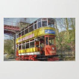 Leeds Tram 399 Rug