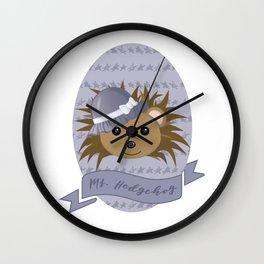 Ms. Hedgehog Wall Clock