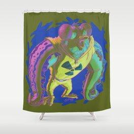 Wut Radyashun? Shower Curtain