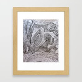 Pathways 8 Framed Art Print
