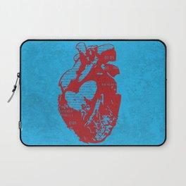 Binary heart Laptop Sleeve