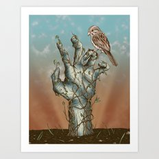 Dawn of the Living Art Print