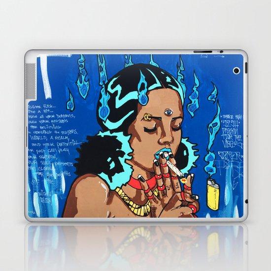 Wicked Bleu I Laptop & iPad Skin