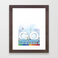 you're COLOR - Page 13 Framed Art Print