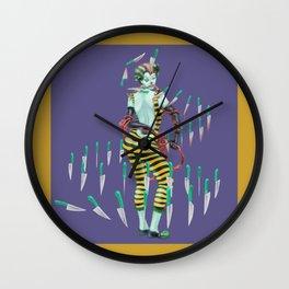 Tina's Jugglery Wall Clock