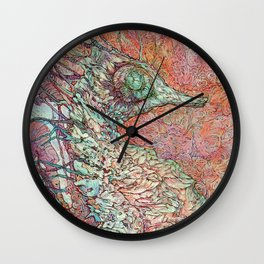 Siren's Ride Wall Clock