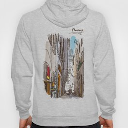 Sketches from Italy - Florence Hoody