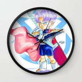 Prince Trunks Wall Clock