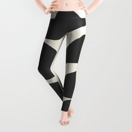 Abstract Minimal -Plant 3 Leggings
