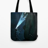 monster Tote Bags featuring Monster by MaComiX