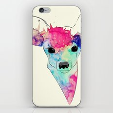 Watercolor Fawn iPhone & iPod Skin