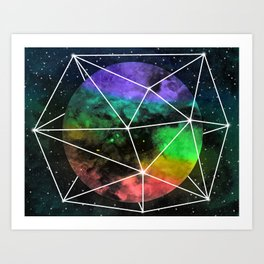 Space Anomaly Art Print