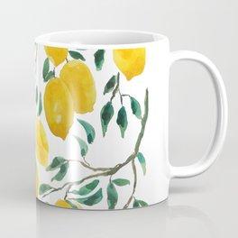 yellow lemon watercolor 2020 Coffee Mug