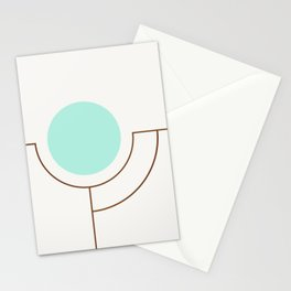 Balm 05 // ABSTRACT GEOMETRY MINIMALIST ILLUSTRATION by Stationery Cards