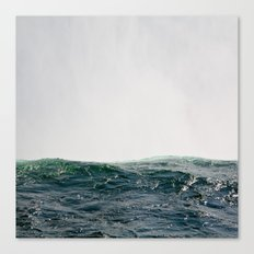Dark Blue Canvas Print