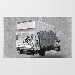 berlin graffiti truck (3/3) Rug