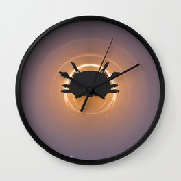 Desolate yet Inviting Wall Clock