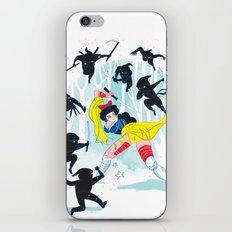 Tales of a Snow Geisha iPhone & iPod Skin