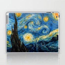 A Starry Night at Hogwarts Laptop & iPad Skin