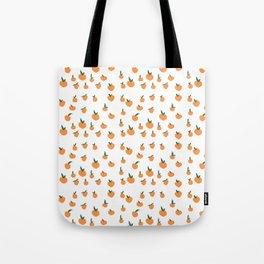 Orange Peaches Tote Bag