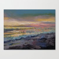 heaven Canvas Prints featuring Heaven by Michael Creese