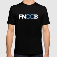 FNOOB Techno Underground Mens Fitted Tee Black MEDIUM