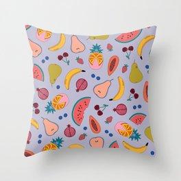 Fruitilicious Throw Pillow