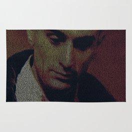 Travis. Taxi Driver Screenplay Print Rug