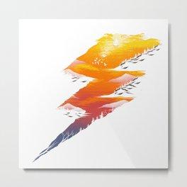 Beautiful Thunder Metal Print