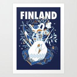 My Finland Art Print